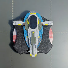 Load image into Gallery viewer, Jango Fett's Slave I Firespray-class Patrol Craft Dial Cover