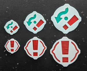 1x Evade-Stress/Stress Token (Icons Separate)