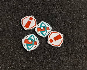 1x Double-Sided Focus-Stress/Stress Tokens - Small