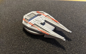 Tie/in Interceptor Dial Cover with Stripes