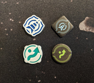 1x Double-Sided Evade/Cloak Tokens - Small