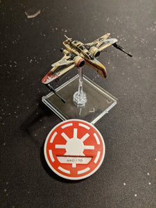Galactic Republic Faction Dial Cover