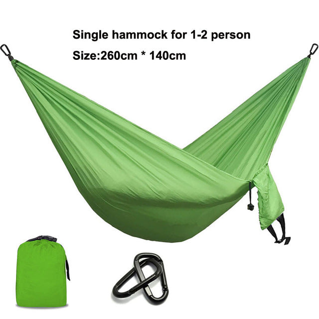 Camping Parachute Hammock Survival Garden Outdoor Furniture Leisure Sleeping Hamaca Travel Double Hammock