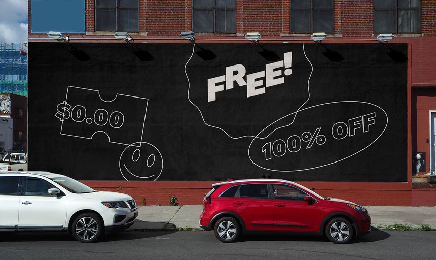 Free Brooklyn Painted Billboard Mockup