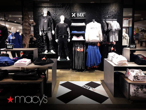Esports Insider H4X's apparel now stocked in 49 Macy's stores