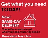 email image encouraging same day delivery order from CbusShops