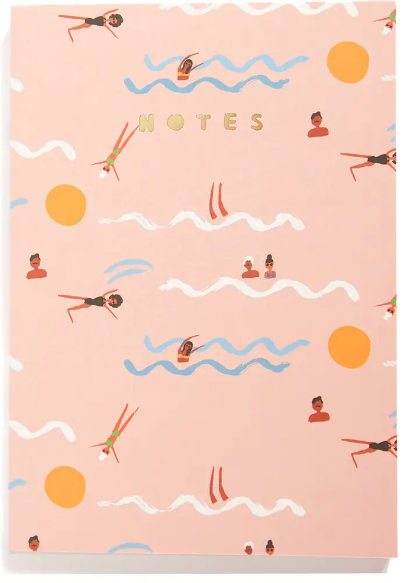 Swimmers - A5 Notebook