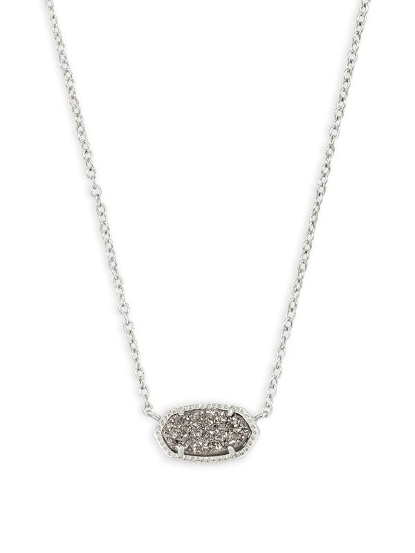 Kendra Scott Elisa Silver Short Pendant Necklace