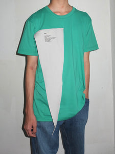T-Shirt with Triangle Piece