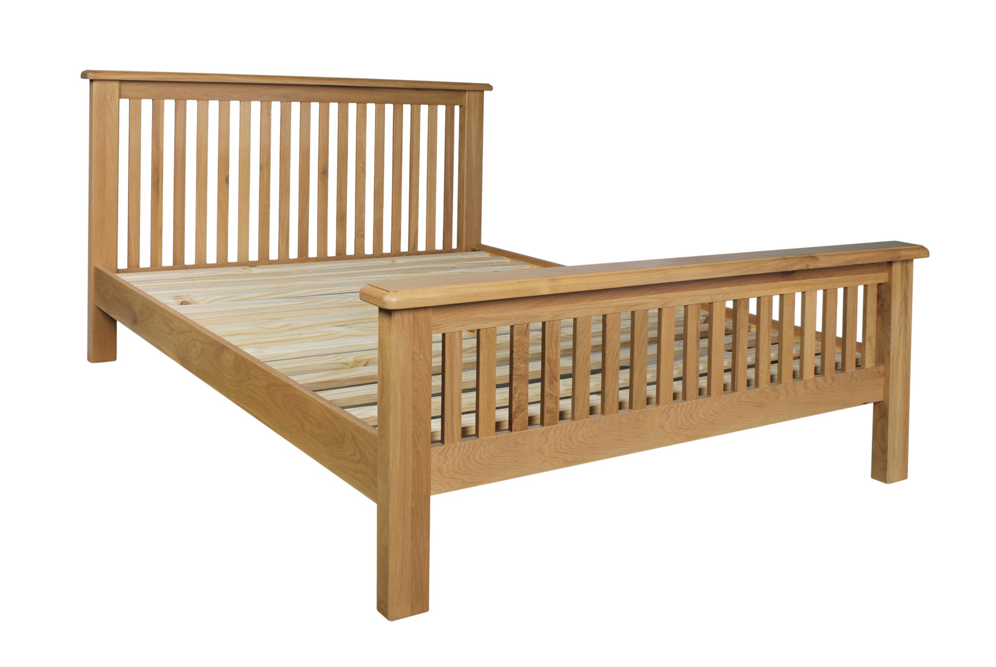 Stratton Oak Bedstead