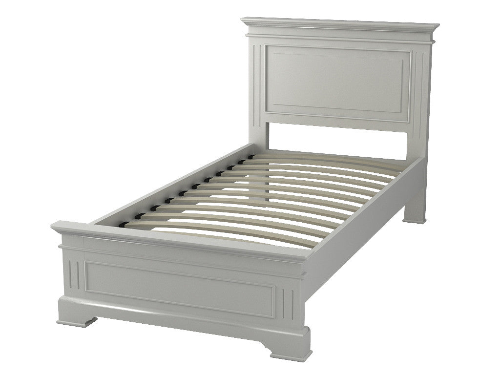 Painted White Single Bed by Cheshire Bedrooms