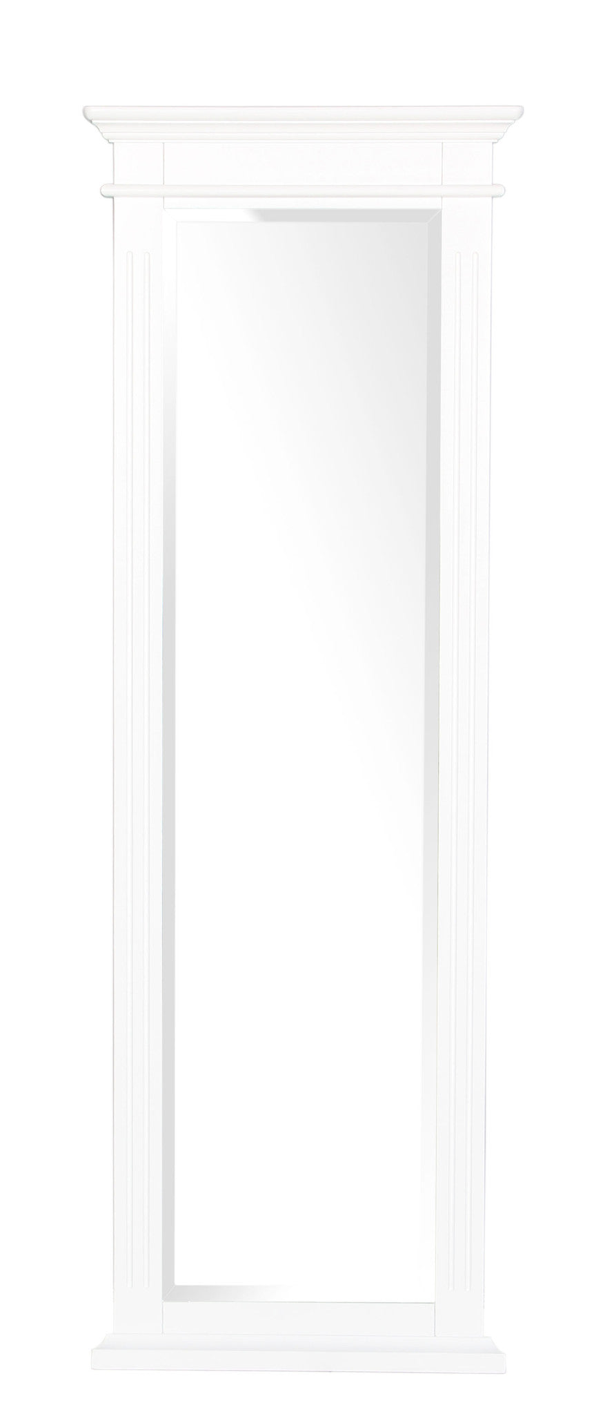 Pure White Cheval Mirror