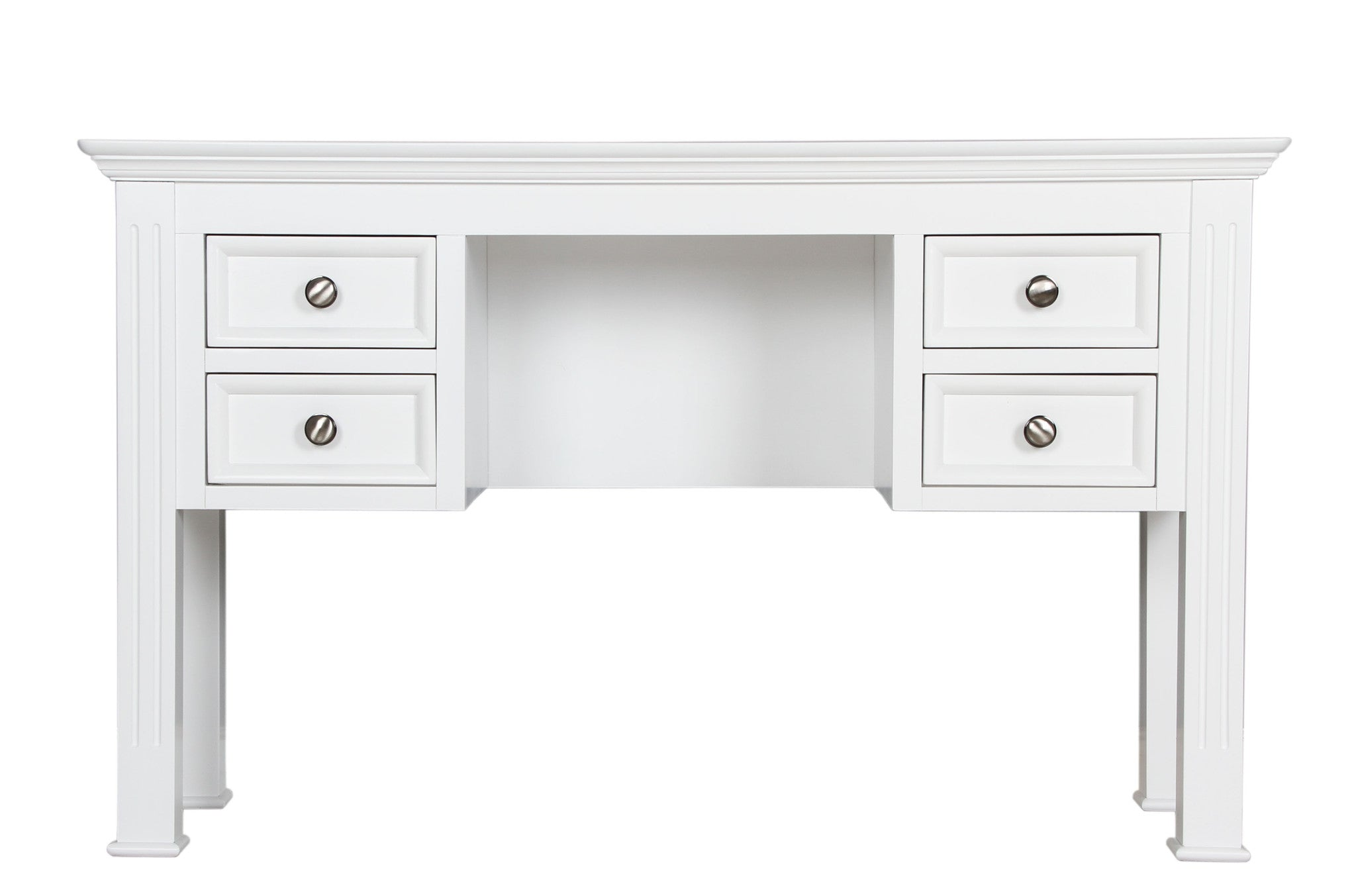 painted White Dressing Table by Cheshire Bedrooms
