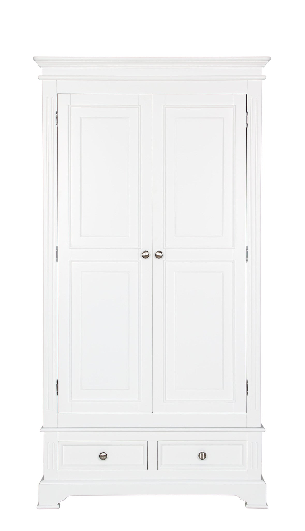 Pure White 2 Door Wardrobe