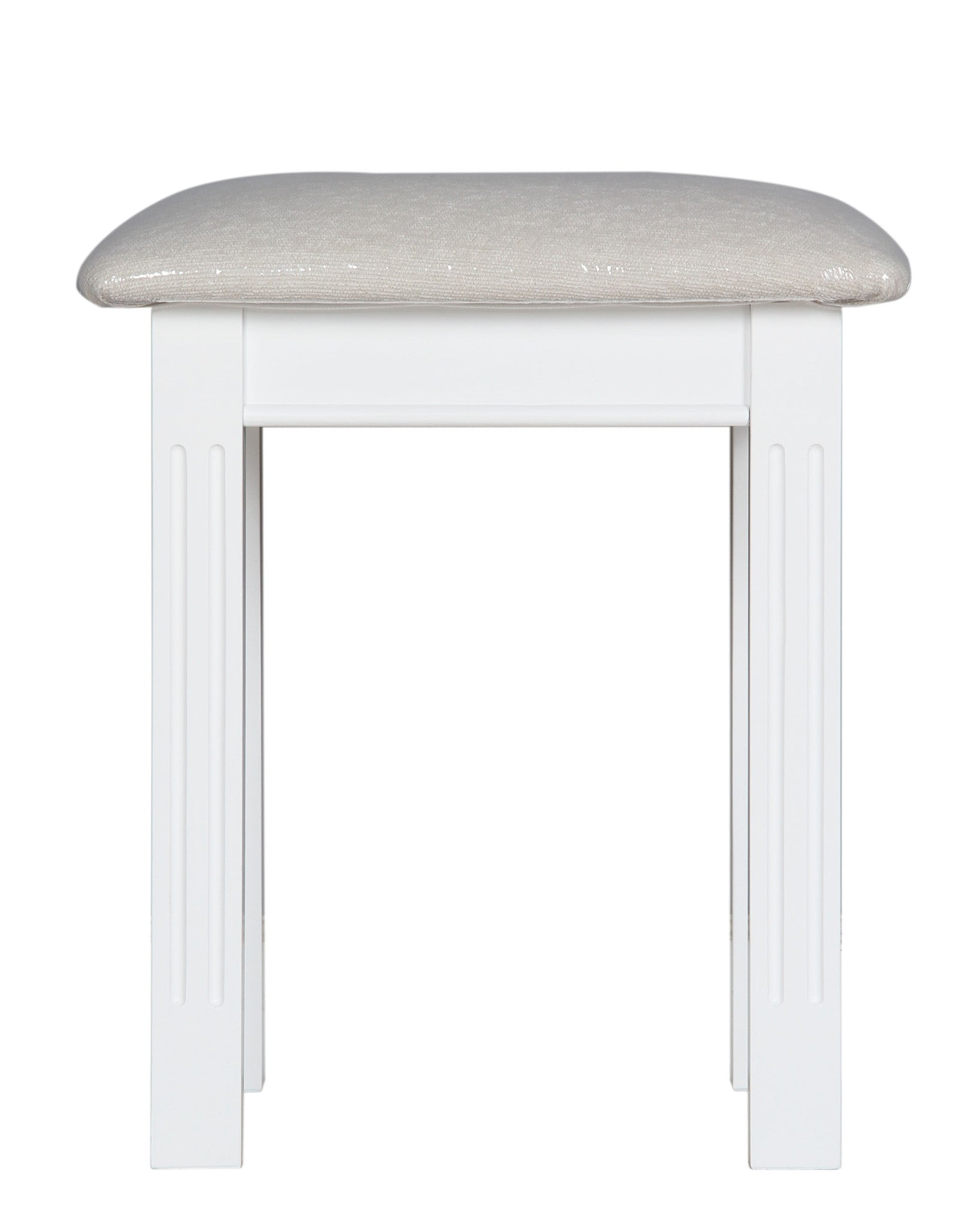 Pure White Dressing Stool