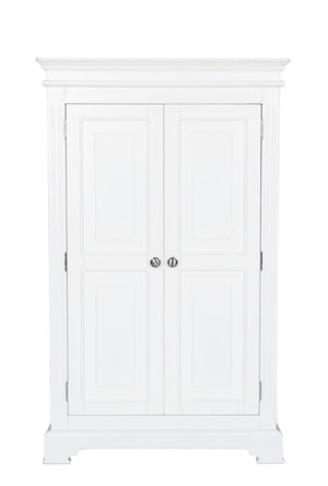 Painted White Small Wardrobe by Cheshire Bedrooms