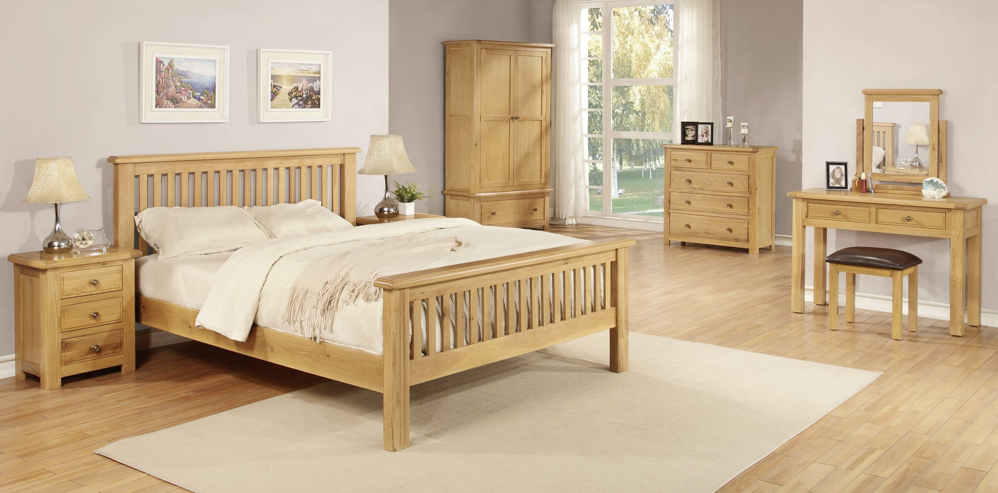 Stratton Oak Bedroom furniture