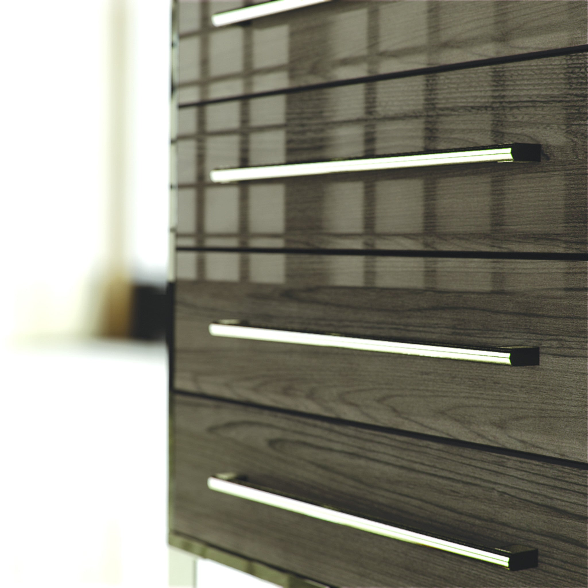 High Gloss Japanese Pear Drawers