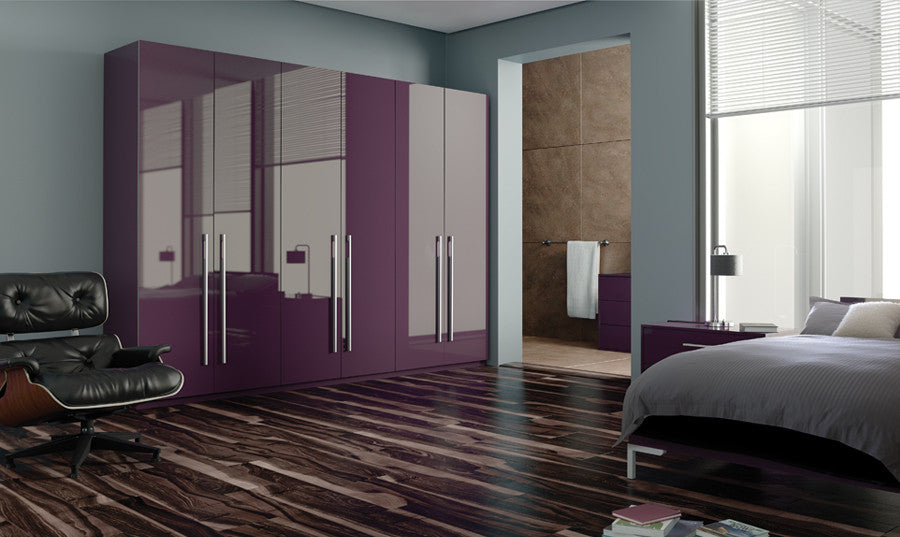 plum fitted furniture