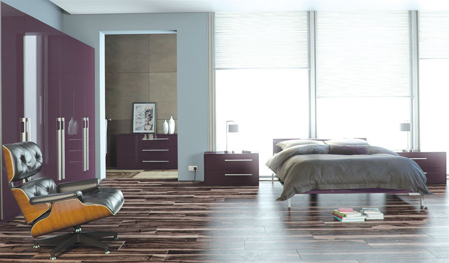 Plum bedroom furniture