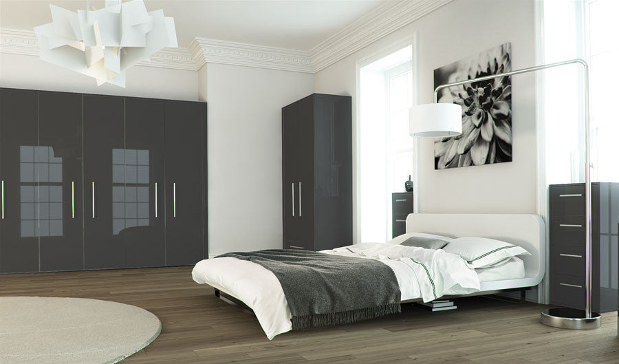 Metallic Grey Bedroom Furniture