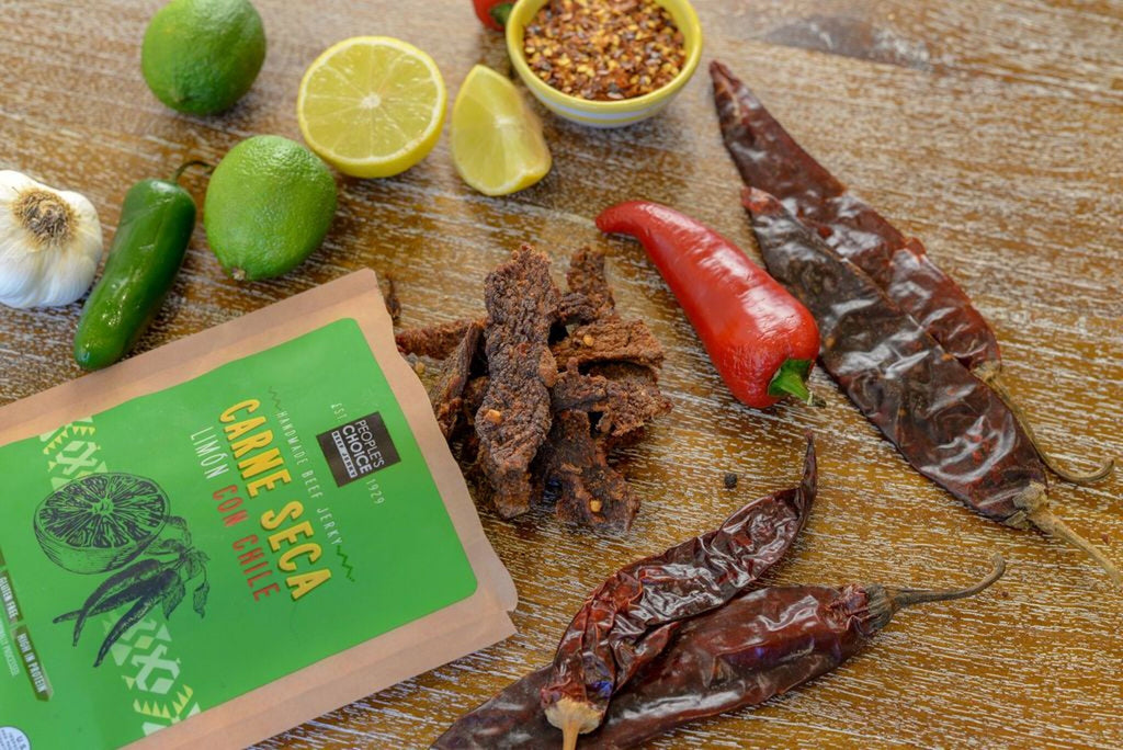 People's Choice Beef Jerky Carne Seca Limon Con Chile