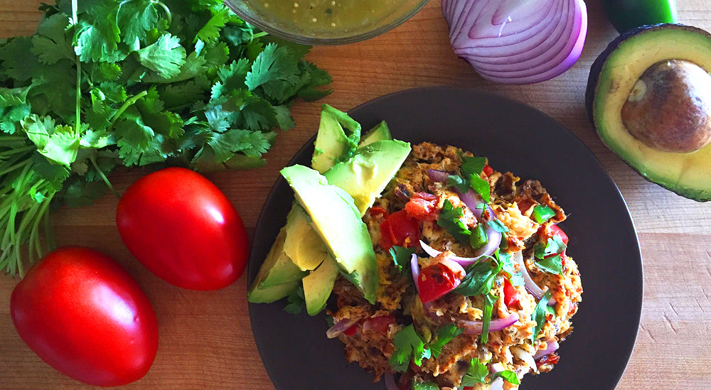 Keto-Friendly Mexican Breakfast Scramble