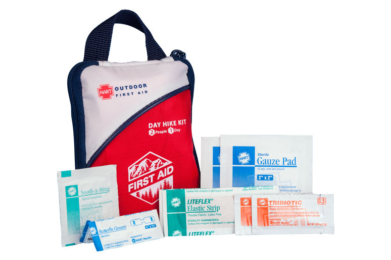 Day hike first aid kit.