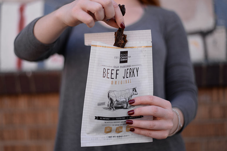 Satisfy the Carnivore in you with the Ultimate Carnivore Diet Beef Jerky.