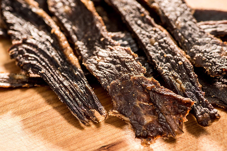 Quality beef jerky makes all the difference.