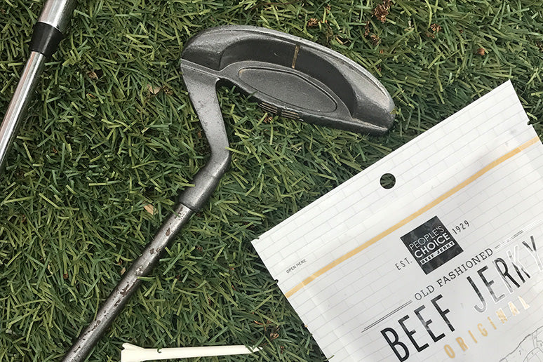 The Golf World's Favorite Beef Jerky - People's Choice.