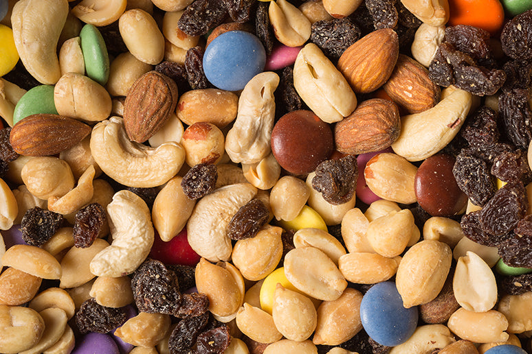 Trail mix snack for hunting.