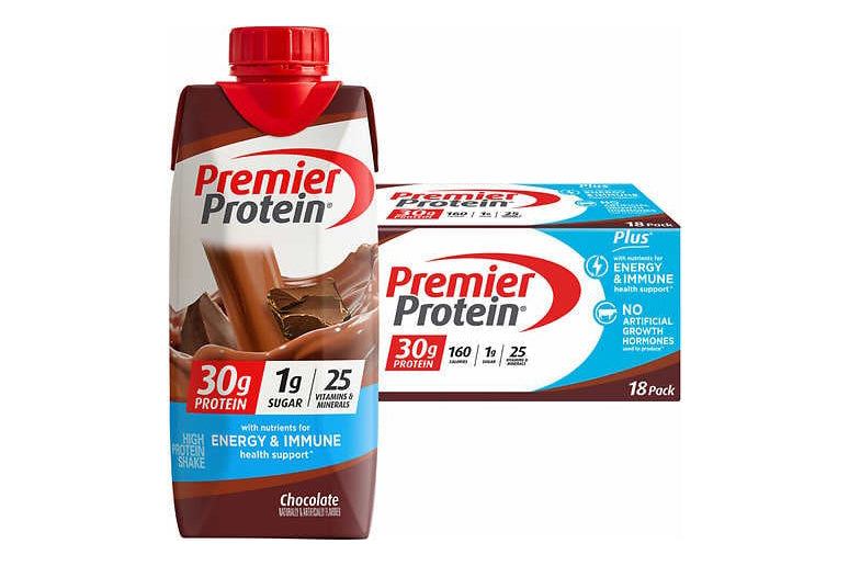 Premier Protein Shakes, 30g Protein PLUS Energy and Immune Support Shakes