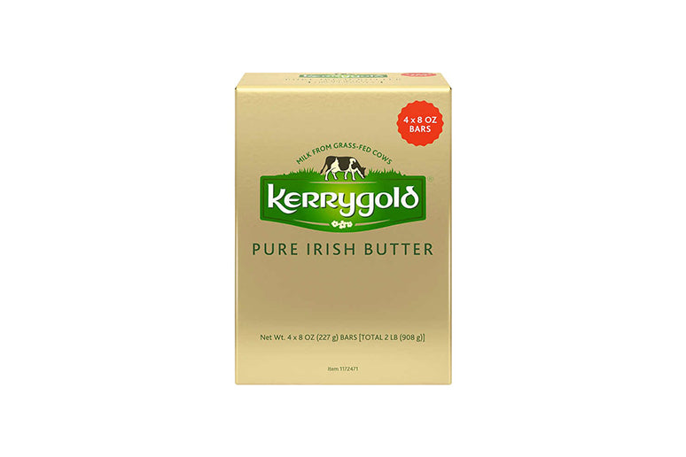 Kerrygold Pure Irish Butter, Salted, 8 oz, 4-count
