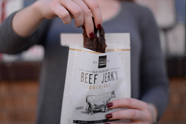 Old Fashioned Beef Jerky Bag
