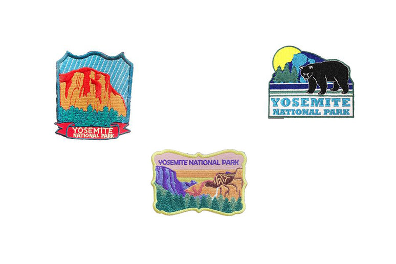 Patches and Pins from National Parks