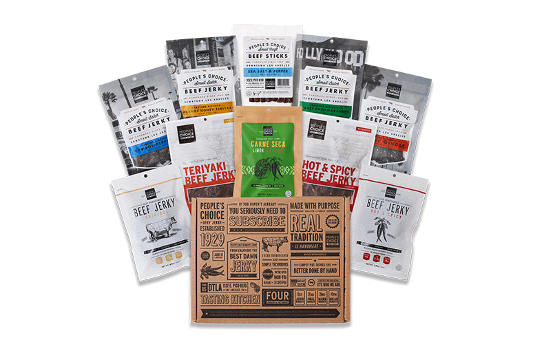 One of Everything Beef Jerky Gift Box