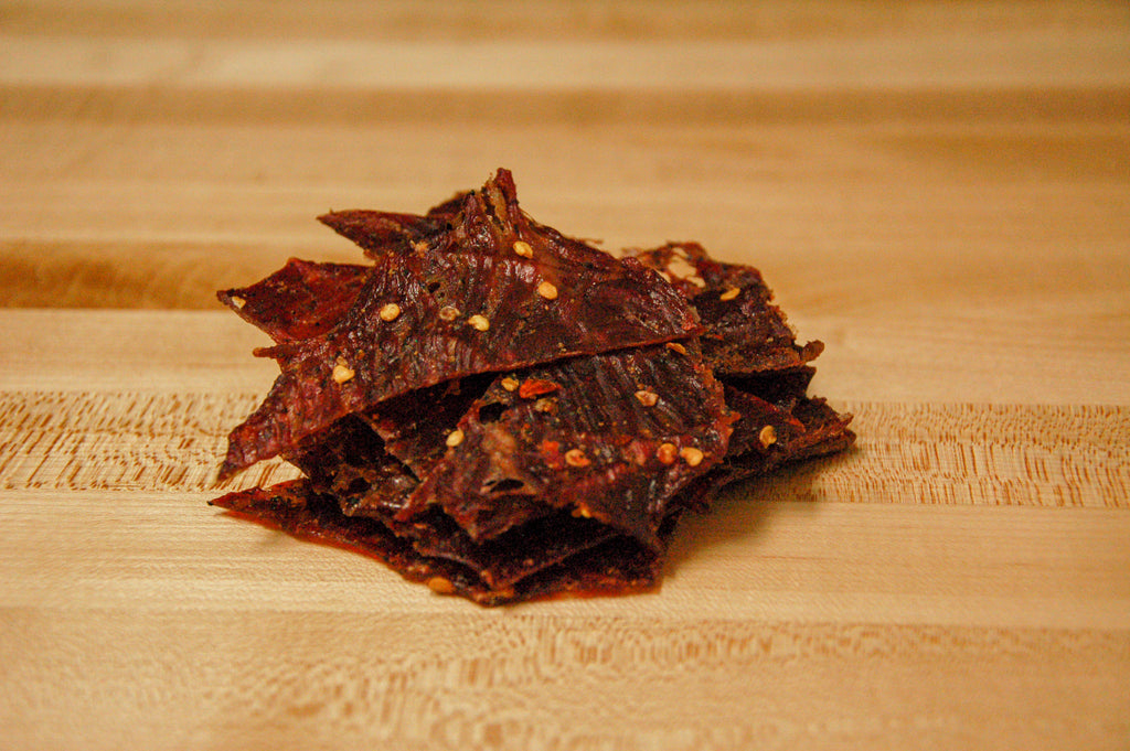 People's Choice Beef Jerky - Classic Hot & Spicy - Strips