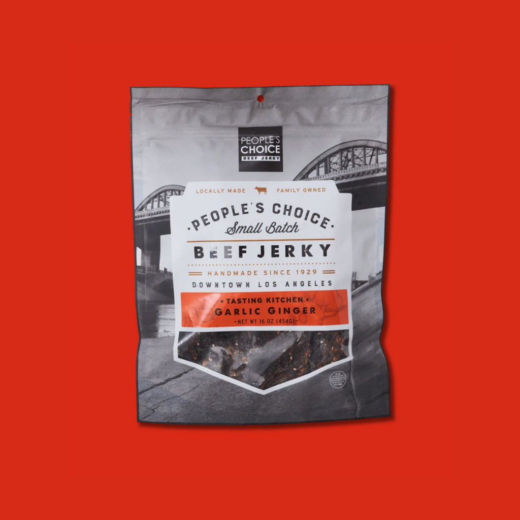 People's Choice Garlic Ginger Beef Jerky