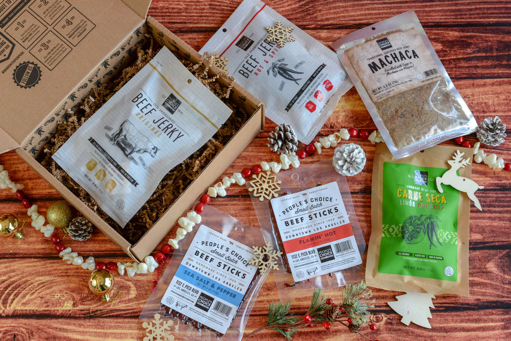 Holiday Health Nut Jerky Box
