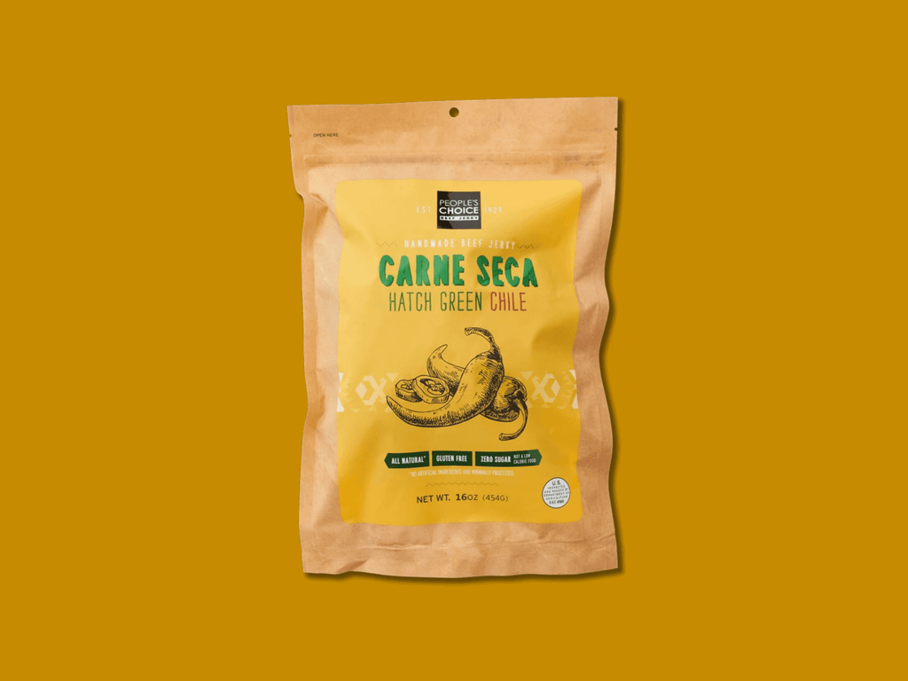 People's Choice Carne Seca Hatch Green Chile Beef Jerky