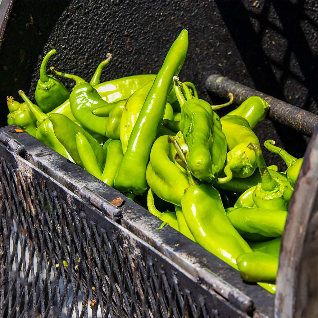 Charring Hatch Green Chiles