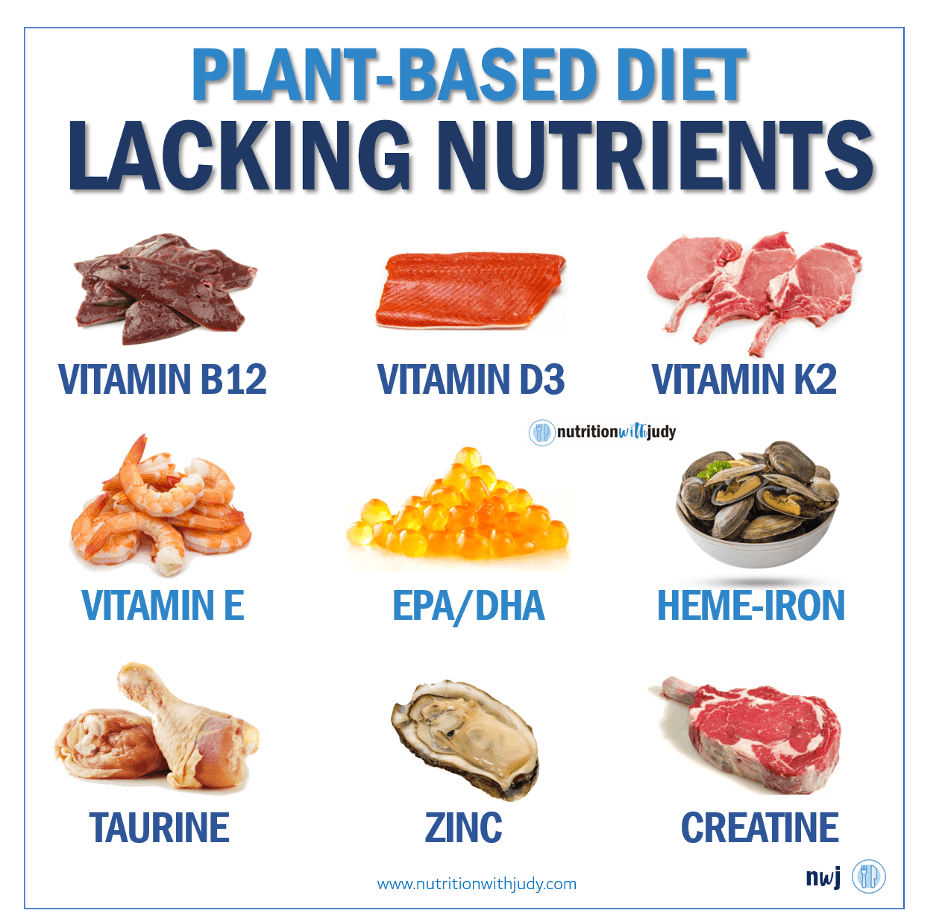 Plant Based Diet Lacking Nutrients