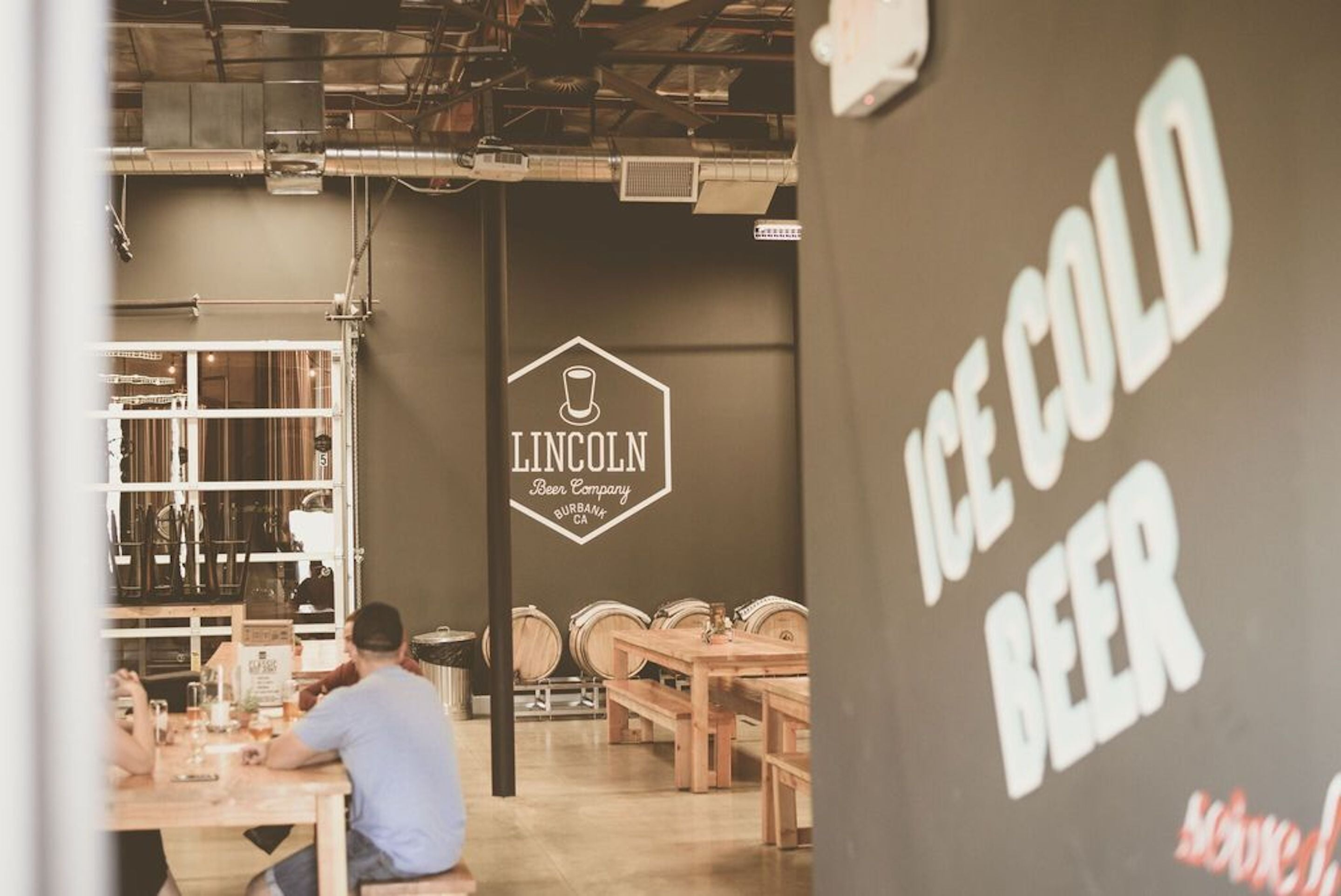 Lincoln Beer Company - Ice Cold Beer
