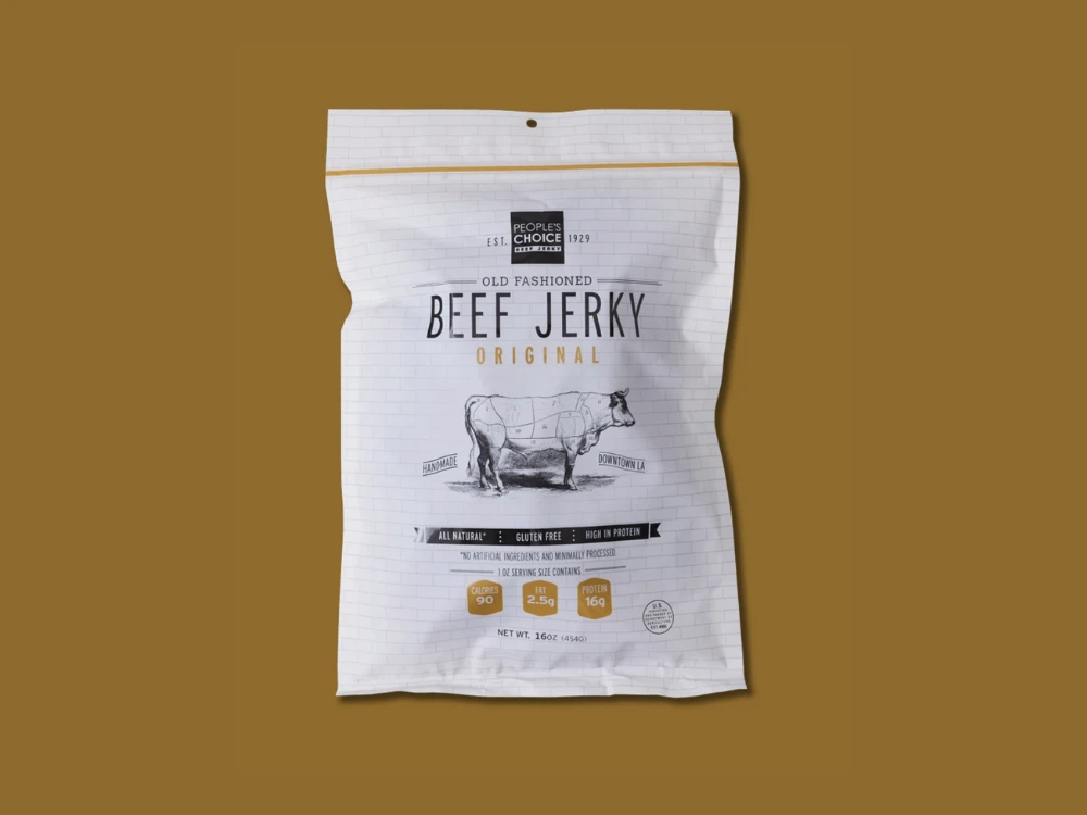 People's Choice Old Fashioned Original Beef Jerky