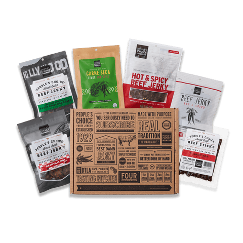Photo of Some like it hot - spicy jerky box