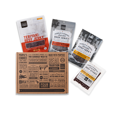 Photo of Sweet tooth - sweet jerky box
