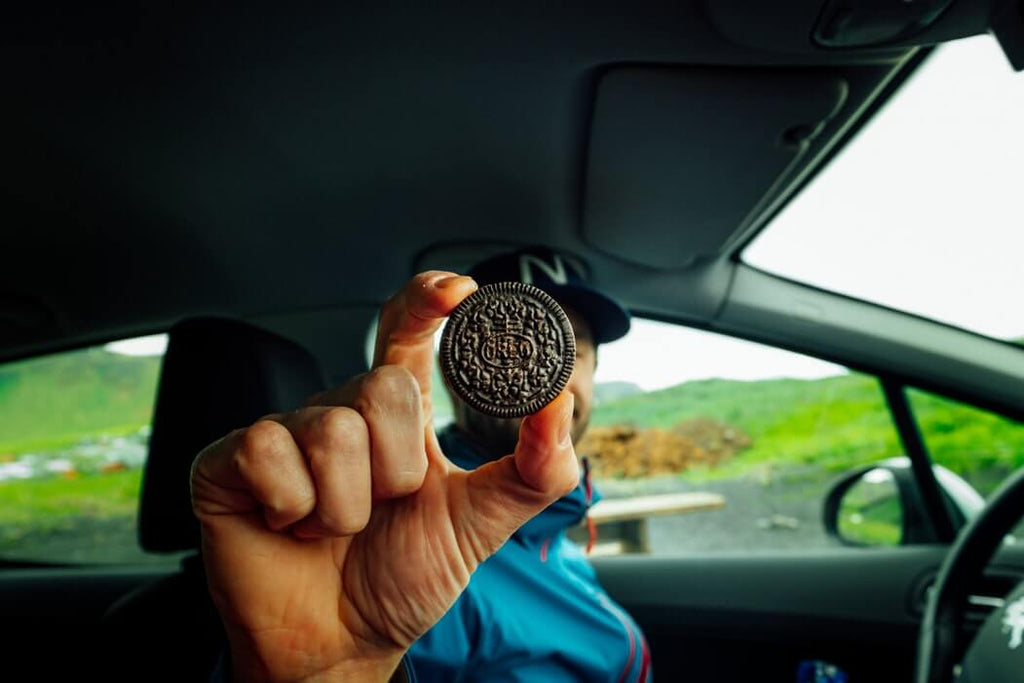 Cookies in the car