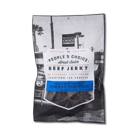 Photo of Tasting kitchen - cowboy peppered beef jerky