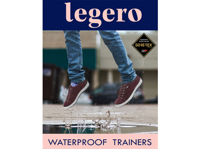 Legero Waterproof Trainers